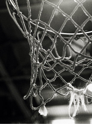 Basketball Basket Closeup
