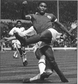 Eusebio playing for Benfica - Portugal