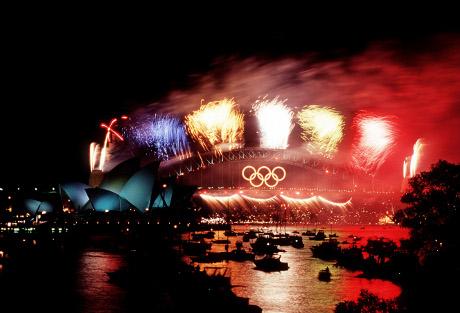 Olympic Ceremony Fireworks