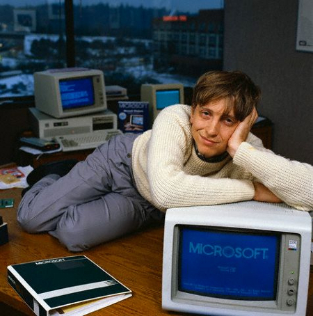 Bill Gates - Microsoft Windows 1.0