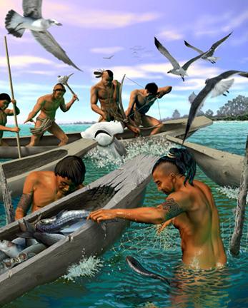 Tocobaga Indians - Fishermen